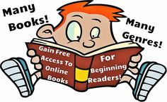 Free Online Books for Beginners! Many books and genres to choose from!