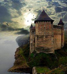Hotyn Castle ( looks scary ) , Ukraine, from Iryna