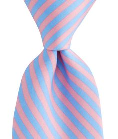 2 Color Stripe Tie