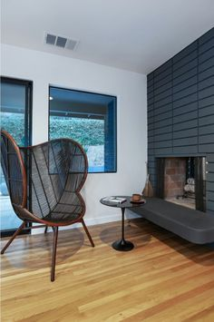 I loooooove that chair! A remodel in the Hollywood Hills - desire to inspire - desiretoinspire.net