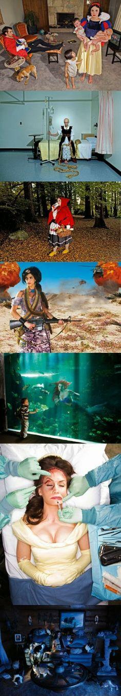 Was aus Disney Figuren nach dem und sie lebten glücklich wurde