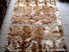 Baby Alpaca Rug Carpet Bedspread Vicuna 82 X 67 Peru 1000 1500