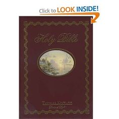 Wedding gift:Lighting The Way Home Family Bible, Wedding Edition That Perfect Wedding Gift [Bonded Leather] -- by Thomas Kinkade (Artist)