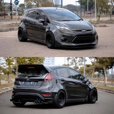 Classic Car News Pics And Videos From Around The World Ford Fiesta Modified, Modified Cars, Ford Rs, Car Ford, Automobile, Ford Fiesta St, Ford Classic Cars, Tuner Cars, Sweet Cars
