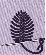 Les points d'épine sont utilisés pour les bordures et les ourlets. Leurs boucles se travaillent alternativement à droite et à gauche d'une ligne centrale. Le point d'épine simple Il est souvent employé dans le patch craquelé - il sert à retenir entre...