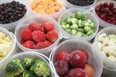Congelar alguns alimentos multiplica seus nutrientes