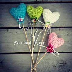 Heart on stick