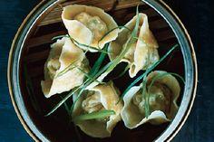 Pork and Chive Dumplings (Jiaozi)