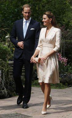 Duke and Duchess of Cambridge at the  Singapore Botanical Gardens 9/11/12