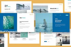 Surfing Keynote Presentation is a surfing course and shop presentation template that gives you an effective way to introduce your surf business, come with flat Business Presentation, Presentation Templates, Presentation Slides, Creative Powerpoint, Brand Guidelines, Social Media Template, Keynote Template, Design Bundles, All Pictures