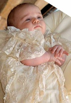 Prince George what an absolute darling...is he holding his hands the way his mom does sometimes??!