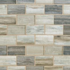 Sand Drift 2 x 4 in Brick Recycled Glass Mosaic 12 x 12 100463140 is part of fitness Product Details Liven up any room with this rectangle 12 x 12 Sand Drift 2 x 4 in Brick Recycled Glass Mosaic - Decorative Tile Backsplash, Stone Backsplash, Glass Mosaic Tiles, Kitchen Backsplash, Kitchen Flooring, Backsplash Ideas, Tile Ideas, Tile Mosaics, Mosaic Bathroom