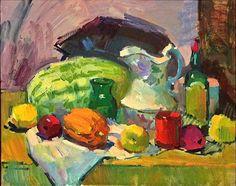 sergei bongart paintings | Sergei Bongart Demo Painting