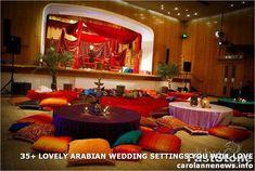 Moroccan Mehndi Decor by Scarlet Event Design sets Asian Wedding . quite beautiful for any party! Mehndi Stage, Mehndi Night, Mehendi, Mehndi Ceremony, Estilo India, Taj Mahal, Arabic Decor, Moroccan Theme, Moroccan Henna