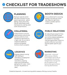 All that #Tradeshows and #exhibitions have to offer the attendees ...