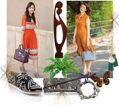"""""""How do you wear your Brahmin?"""" by majda-roza ❤ liked on Polyvore"""