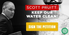 Take action! Sign the Petition: Tell the EPA You Demand Clean Water!