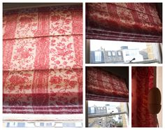 hand made roman blinds / shades
