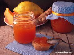 Marmellata di melone, limone e zenzero