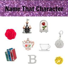Origami Owl Name the Disney Character- Belle