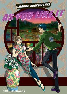 Kutsuwada, C. (2009). Manga Shakespeare: As you like it. New York, NY: Harry N. Abrams.