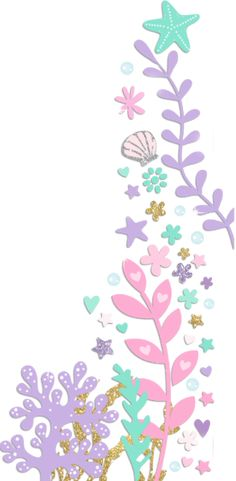 Crea desde cero tu Calcomanía   Zazzle.com Princess Birthday Invitations, Mermaid Theme Birthday, Unicorn Invitations, Pretty Phone Wallpaper, Cool Wallpaper, Iphone Wallpaper, Girls Room Design, Rainbow Theme, Under The Sea Party