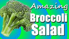 This Broccoli Salad will amaze you!  In this episode, Chrissy shows you how to make her delicious Broccoli Salad.  How to make Broccoli Salad - Cooking With Chrissy