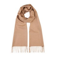 Discover our Cashmere Camel Classic Scarf exclusively at Johnstons of Elgin. Made in Scotland, browse our luxury collection of cashmere scarves online. Cashmere Scarf, Camel, Classic, How To Make, Collection, Fashion, Derby, Moda, Fashion Styles