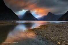 """""""Shadowland"""" by Christian Lim. Fjordland National Park, Milford Sound, New Zealand - South Island. Natural Park, Natural World, Color Fly, Photo Lens, Visit New Zealand, New Zealand South Island, Milford Sound, Parcs, Weird World"""