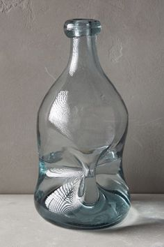 Pinched Glass Vase - anthropologie.com