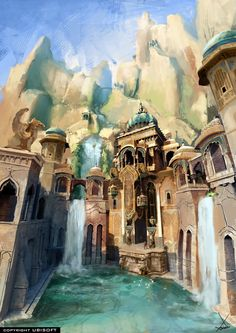 concept for Prince of Persia ; The Forgotten Sands