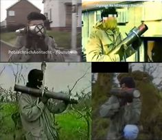The IRA's recoilless improvised grenade launcher - Apocalypse Survival, Post Apocalypse, Northern Ireland Troubles, Irish Republican Army, The Ira, Space Fighter, Metal Fire Pit, Homemade Weapons, Erin Go Bragh