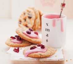 Christkind-Cookies in Rosa: Rezept auf for me