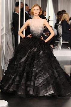 Dior Haute Couture 2012 | Dior Haute Couture Spring 2012 ©Dior
