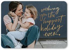 Happiest Wish Stationery Card by jillgo. Send a holiday card friends and family will love. Top Gifts For Kids, Kids Gifts, Custom Christmas Cards, Holiday Photo Cards, Kids Stockings, Stocking Stuffers For Kids, New Year Photos, Happy Wishes