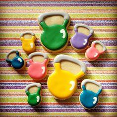 Kettlebell Sugar Cookies - Assorted - 2 Dozen