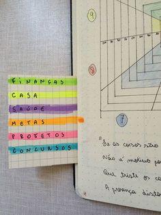 Você também pode colocar legendas extras para te ajudar na organização com cores. | 15 diários em tópico da vida real para te inspirar a começar um