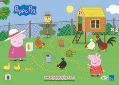 Peppa Pig - Granny Pig's Farm Printable