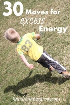 30 Gross Motor Activities for Excess Energy