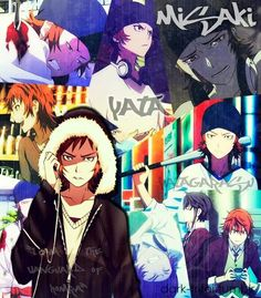 Yata. K Project - this kid is 85% of why I can't handle this anime </3