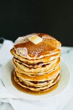 Pomelo: Fluffy Pancakes (the secret is meringue).