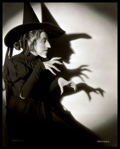 Wicked Witch Margaret Hamilton. 1939 this bitch is the reason I couldn't sleep for 2 years or go to the bathroom alone....yikes!!