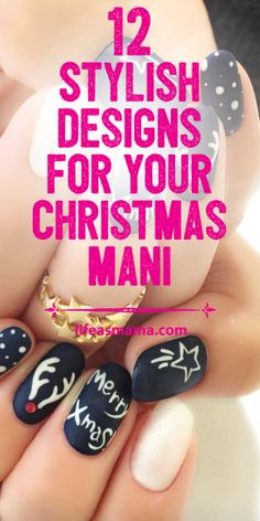 The holidays are the perfect time to go all out and even give your nails a little holiday spirit. We've found some pretty great designs out there that we're positive you can find at least a few you can use this during the most wonderful time of the year!