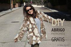 DIY Costura: Tutorial y patrones gratis Abrigo de Pelo para mujer   Oh, Mother Mine DIY!!