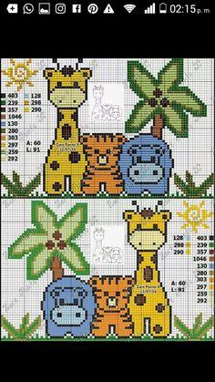 animalitos de la selva