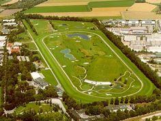Sport in München: Golfclub München Riem Luftaufnahme