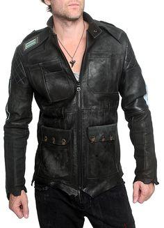 "Men's JUNKER DESIGNS - ""BLADE RUNNER"" Leather Jacket"