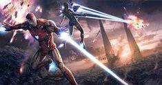 Iron Man and Rescue The Avengers, Marvel Avengers Assemble, Iron Man Avengers, Marvel Art, Marvel Heroes, Captain Marvel, Iron Man Wallpaper, Marvel Wallpaper, Best Avenger