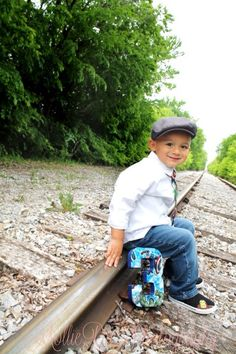 Fifth birthday photos Old Train Pictures, Toddler Pictures, Boy Pictures, Boy Photos, 3rd Birthday Pictures, Third Birthday, Baby Birthday, 2nd Birthday Parties, Photography Mini Sessions
