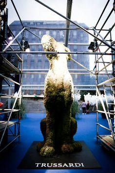 Trussardi giant greyhound  September 11th  The future is Now event #eventoftheyear #brescia #italy  gbprogress.com